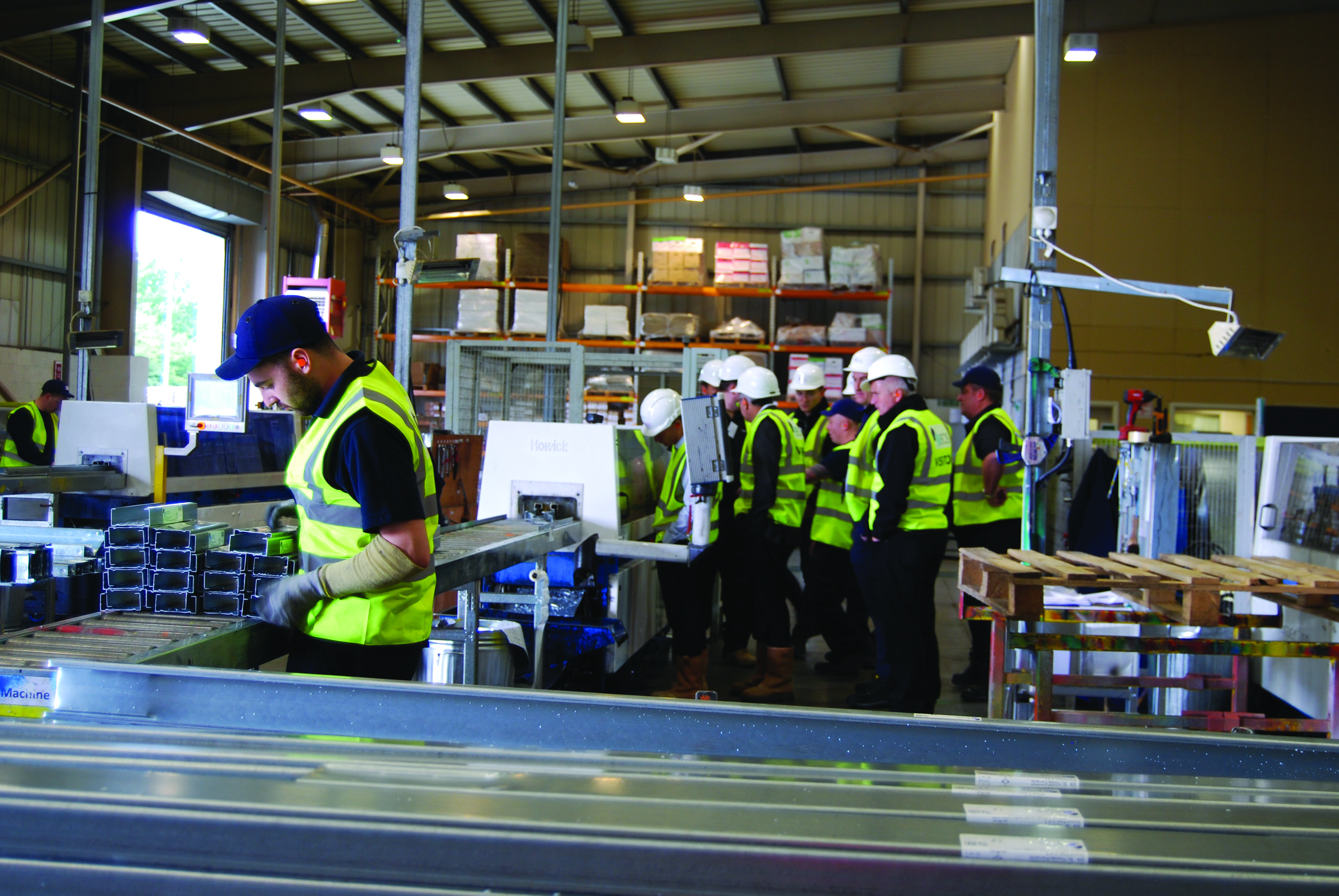 EOS factory tour