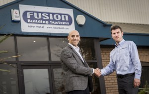 L to R: Michael Romero, Dalux UK Manager and Toby Bolt, Fusion Technology Manager