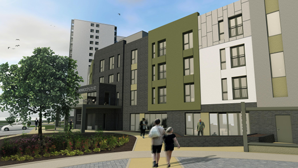 Willmott Dixon is using Fusion Building Systems' light gauge steel offsite system for the construction of the new Winwood Heights development in Sherwood, Nottingham.
