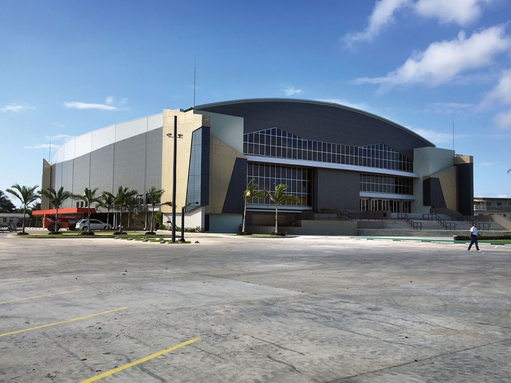 Dorset-based REIDsteel is key player in the construction of a$32.9m civic centre in Belize City. The firm has performed the structural design, detailing and fabrication, including the cladding and glazing for the landmark project in the Central American country. The Belize Civic Center, costing $32.9m Belize Dollars (£12.7m), is due to be officially opened early this year.