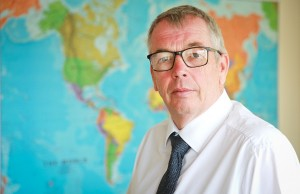 Simon Boyd, Managing Director of Reid Steel.