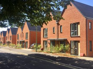 New Barratt homes at New Quarter, Bordon, Surrey and Cane Hill Park, Coulsdon, Surrey, built using Fusion's offsite light gauge steel panelised system.