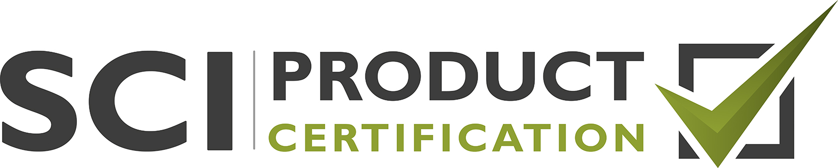 SCI Product Certification Logo