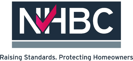 NHBC Raising Standards, Protecitng Homeowners Logo