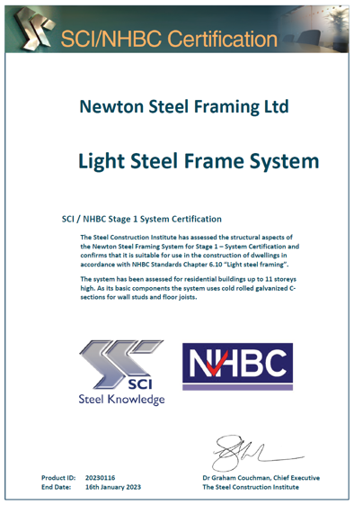 Newton Steel Framing LTD