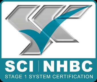 SCI NHBC Certification Logo
