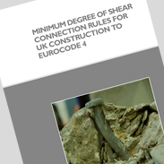 Minimum degree of shear connection rules for UK construction to Eurocode 4 (P405) PDF format only.