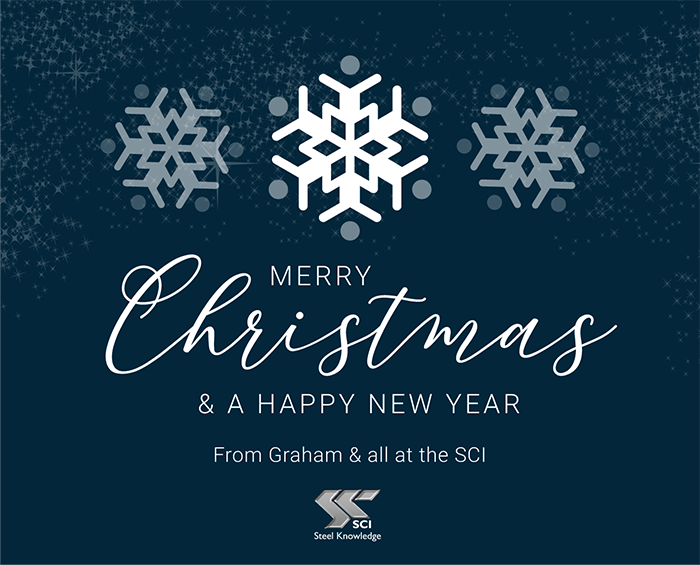 Merry Christmas & A Happy New Year from Graham & all at SCI