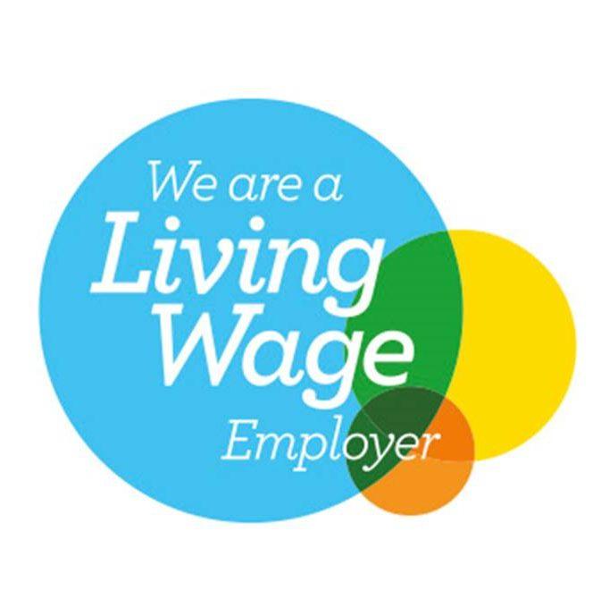 Livibg Wage Logo Logo
