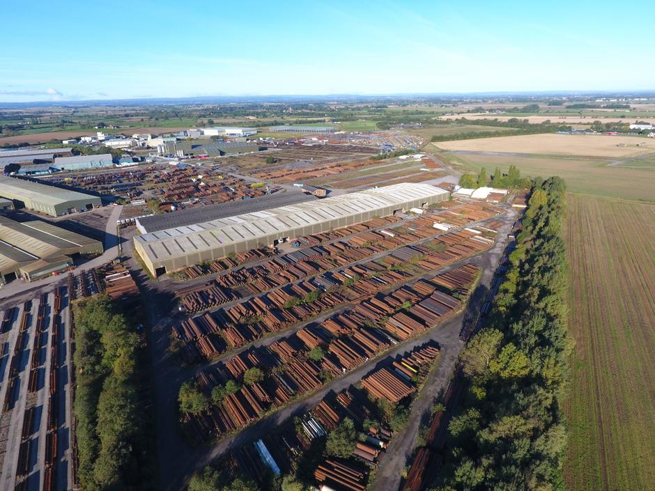65,000 tonnes of reclaimed steel tubes, Cleveland Steel & Tubes Ltd