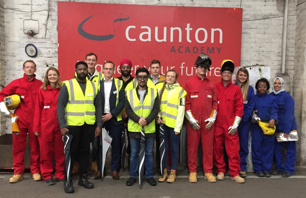 WSP young engineers welcomed to Caunton