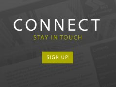 CONNECT - SIgn up to stay in touch