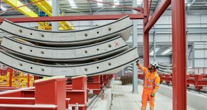HS2 Tunnel segments now being manufactured in Caunton framed factory